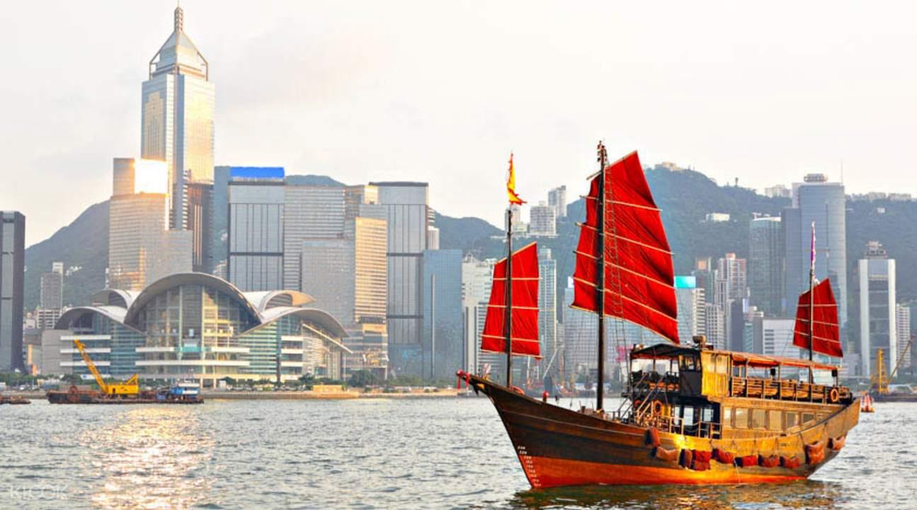 香港張保仔號遊維多利亞港