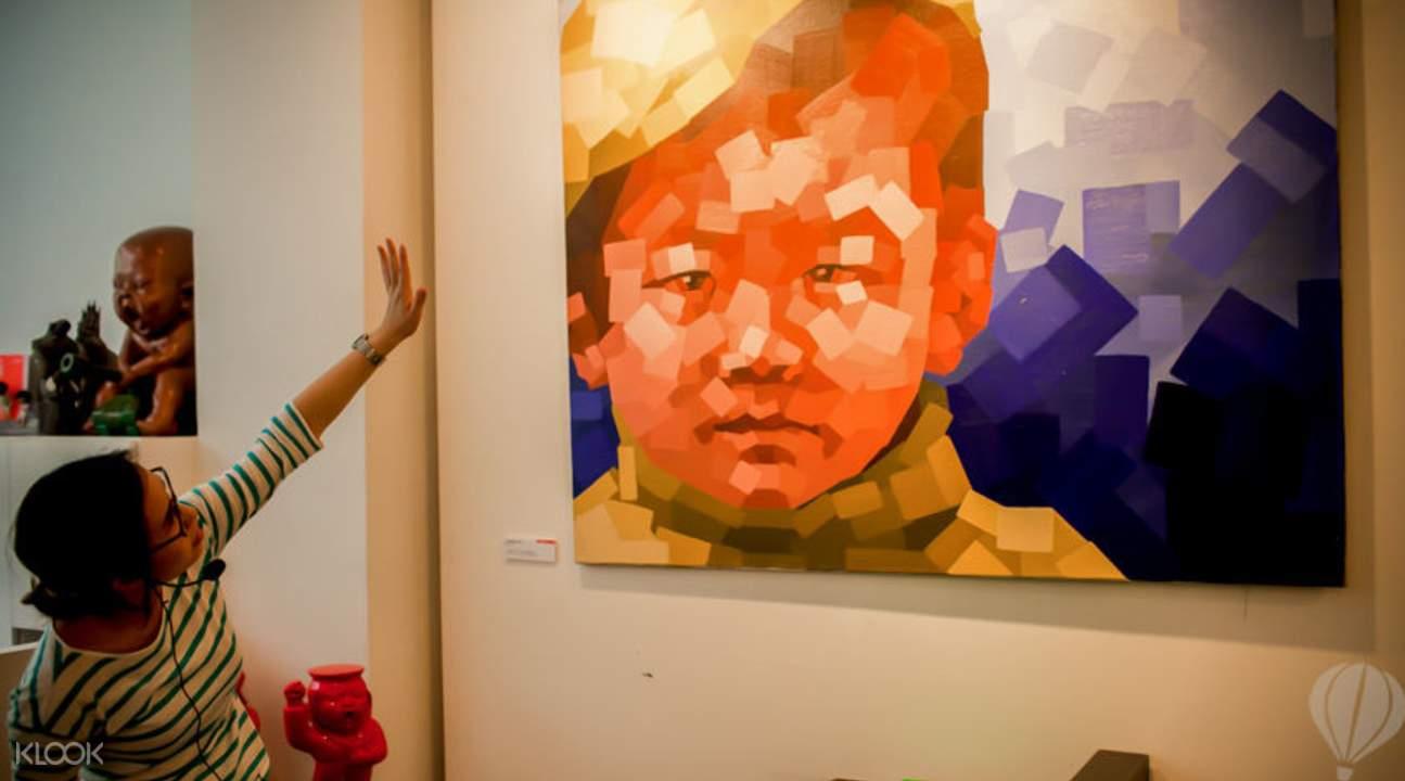 香港画廊漫步