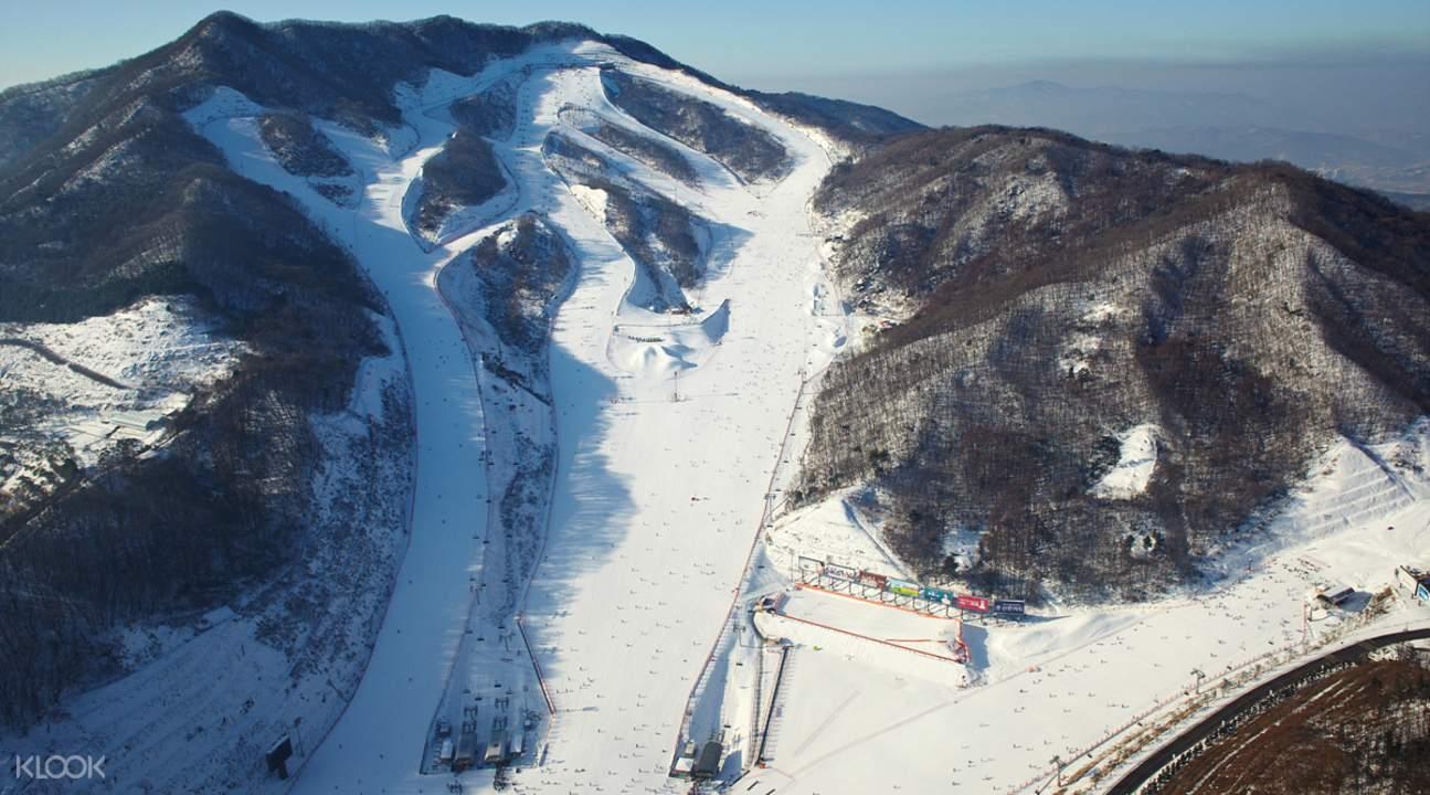 konjiam ski resort slopes