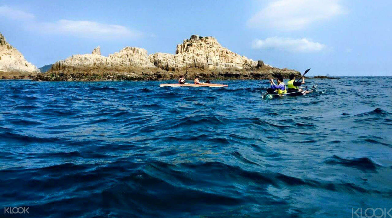 geopark kayaking