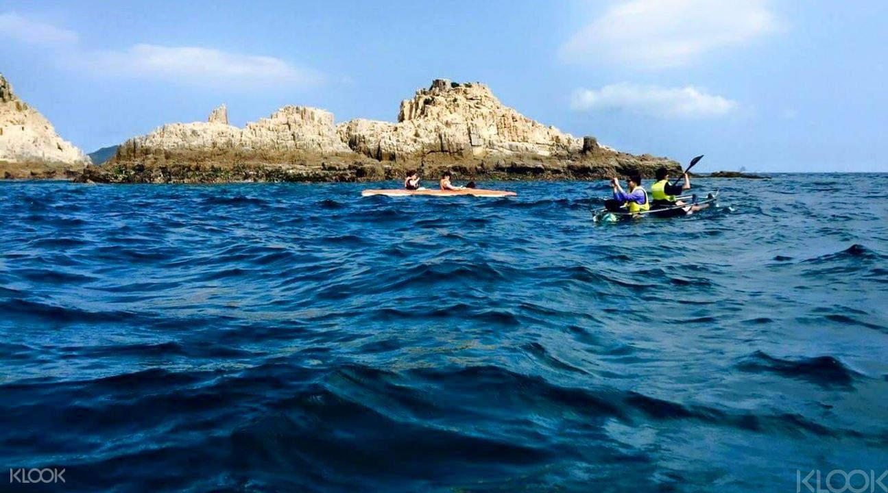 geopark kayaking