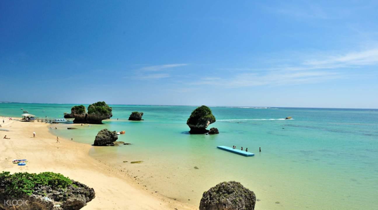 冲绳 新原海滩