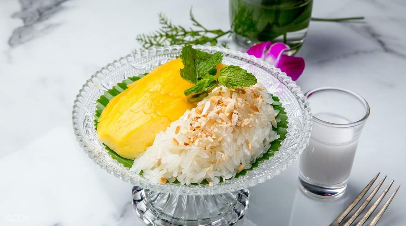 泰国曼谷 power nap lounge芒果糯米饭