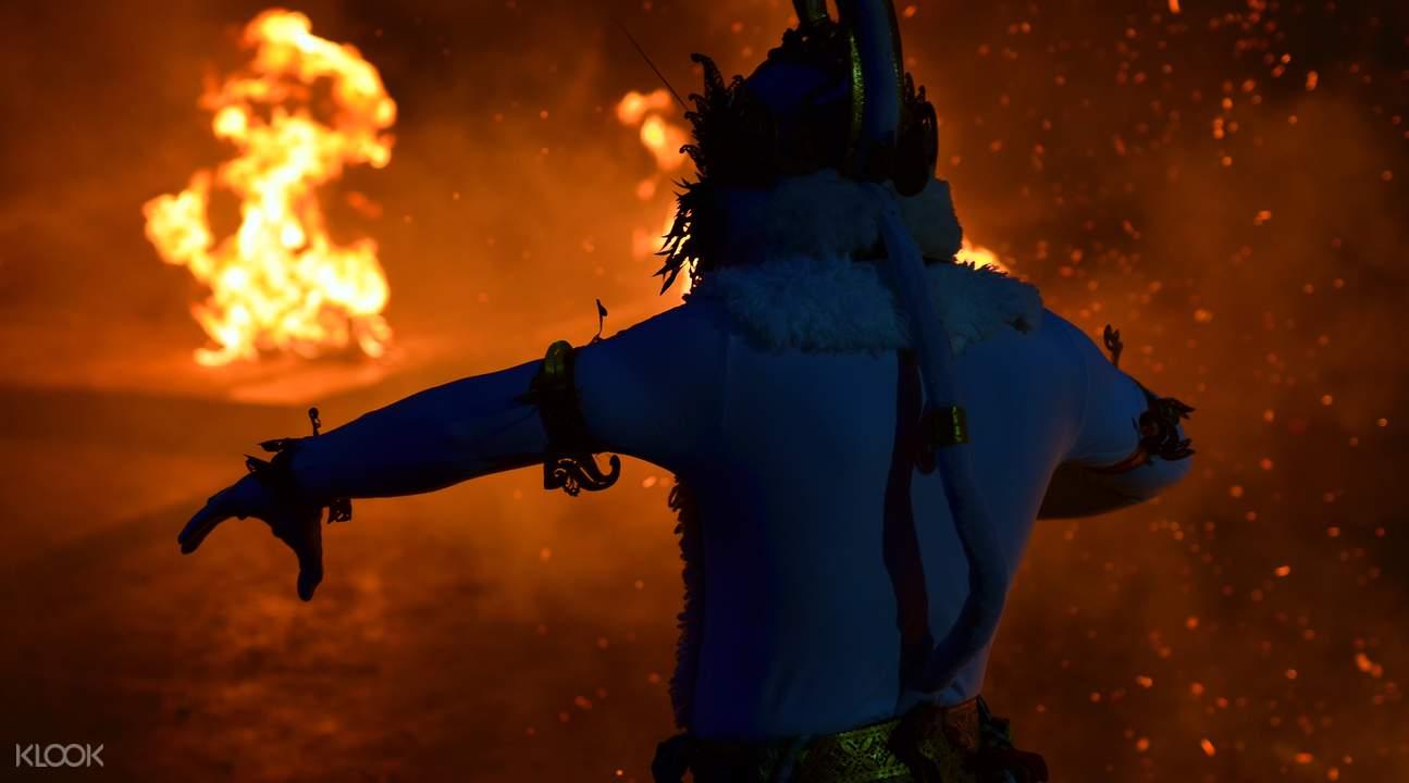乌努瓦图的浪漫黄昏