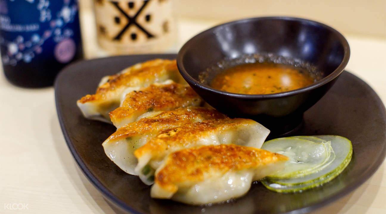新加坡Kanshoku Ramen饺子