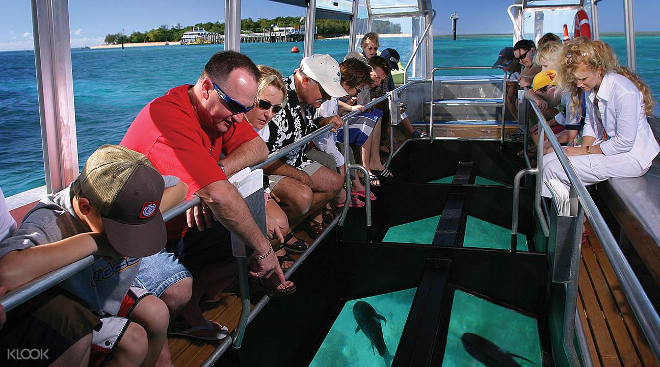 夏威夷玻璃底船巡航