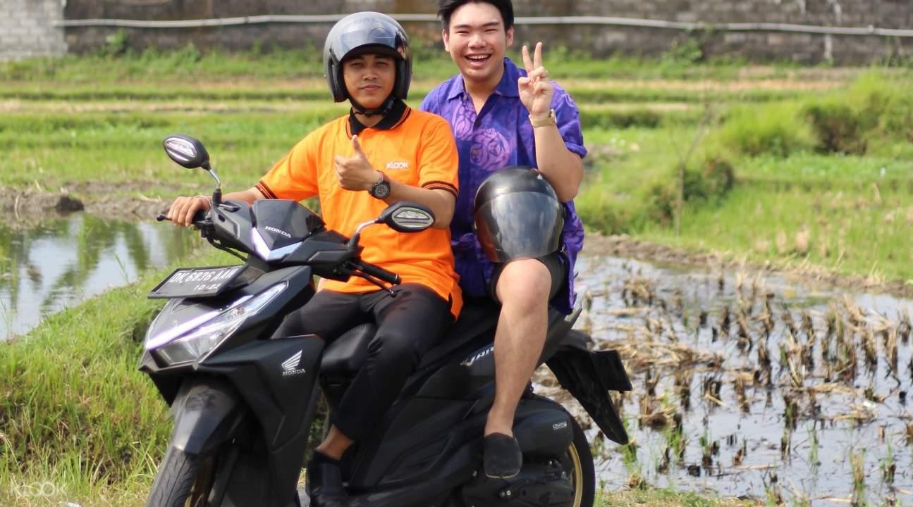 印尼峇里岛摩托车