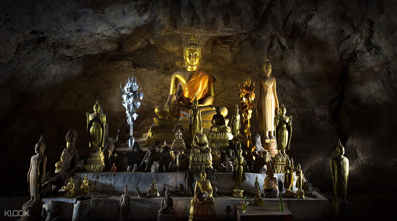 琅勃拉邦半日游 & 巴乌石窟之旅