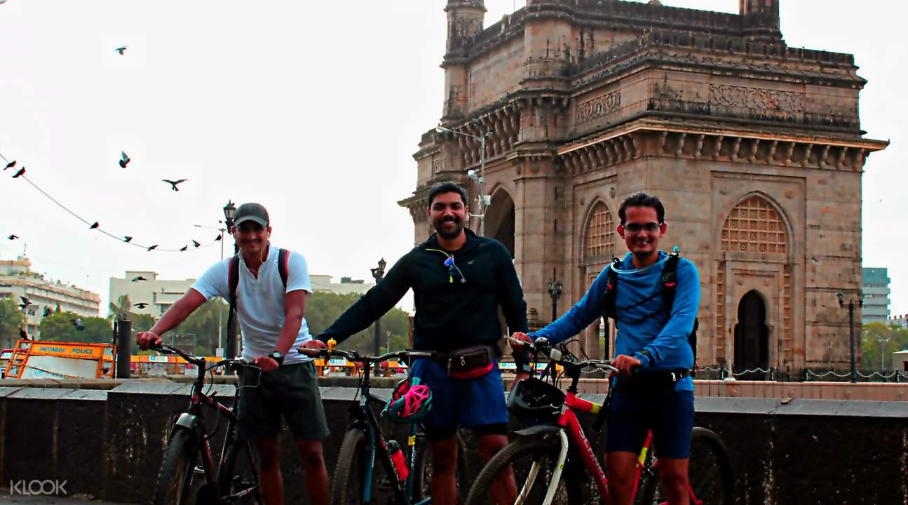 孟買 自行車遊