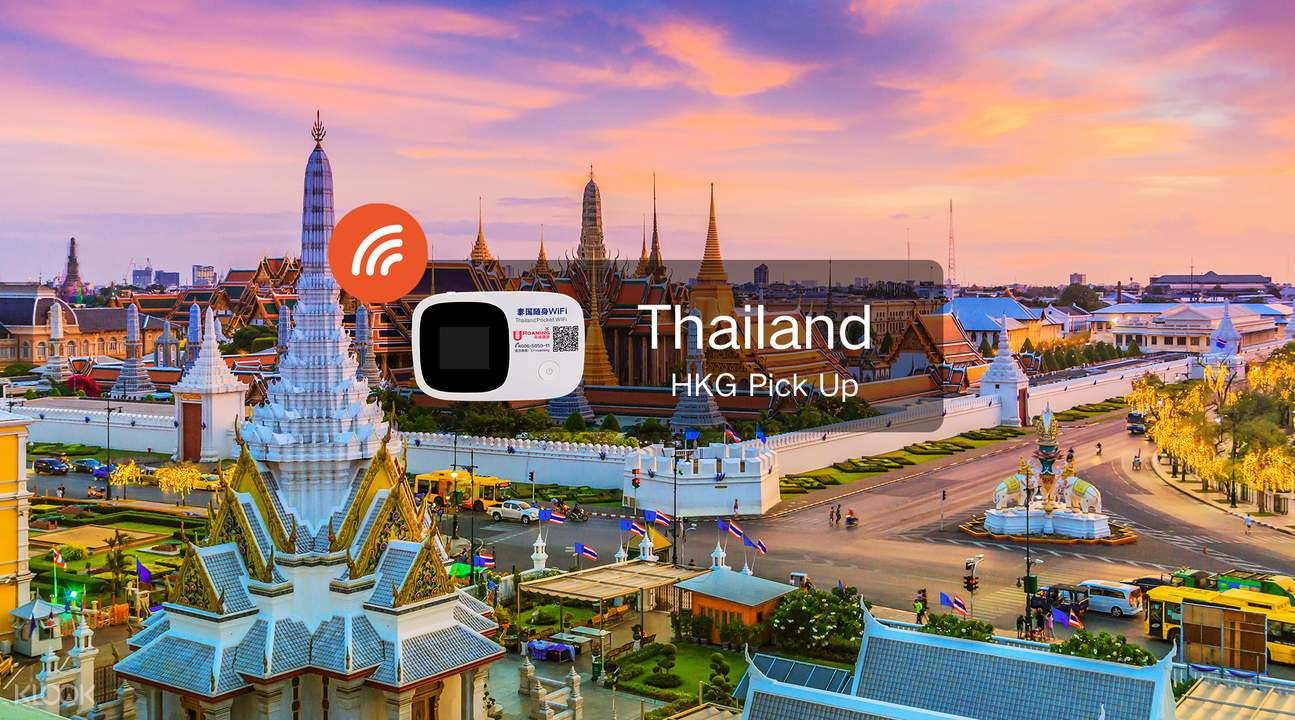 3G WiFi (HKG Pick Up) for Thailand - Klook