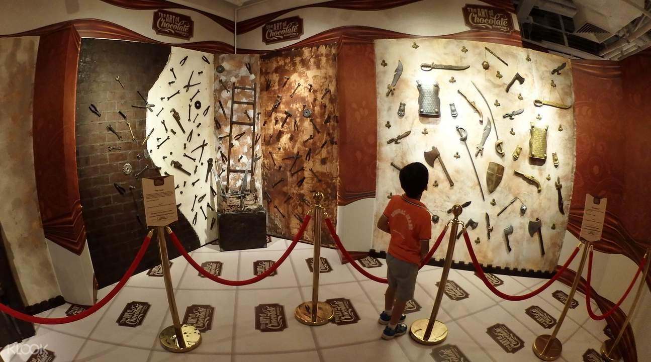 巧克力主题墙