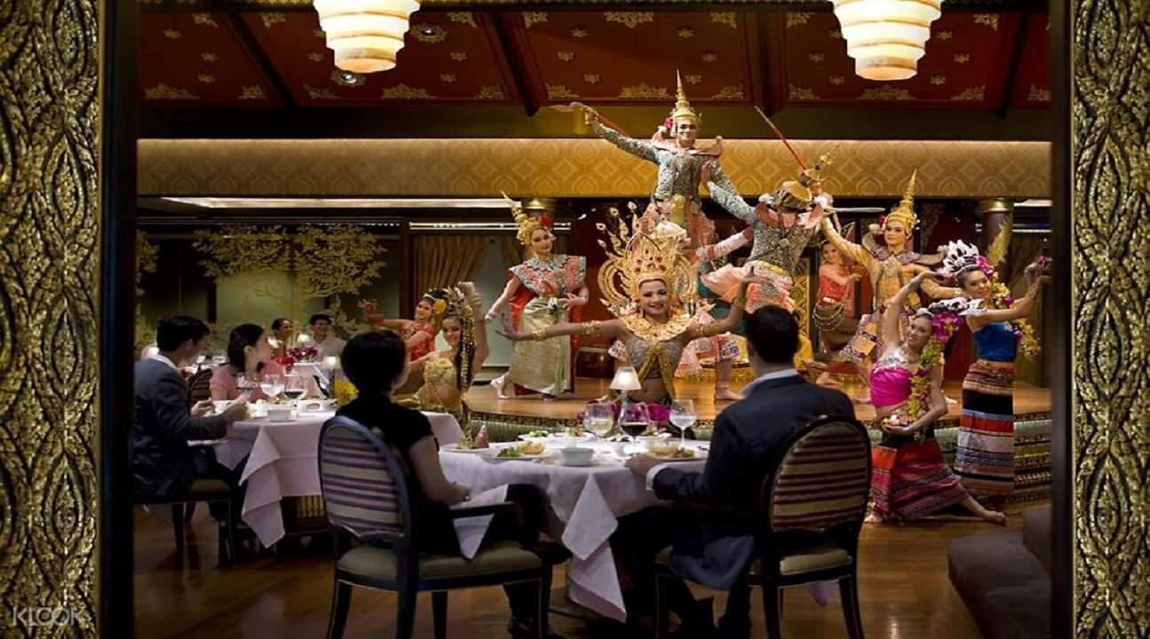 泰国 曼谷 文华东方酒店Sala Rim Naam餐厅