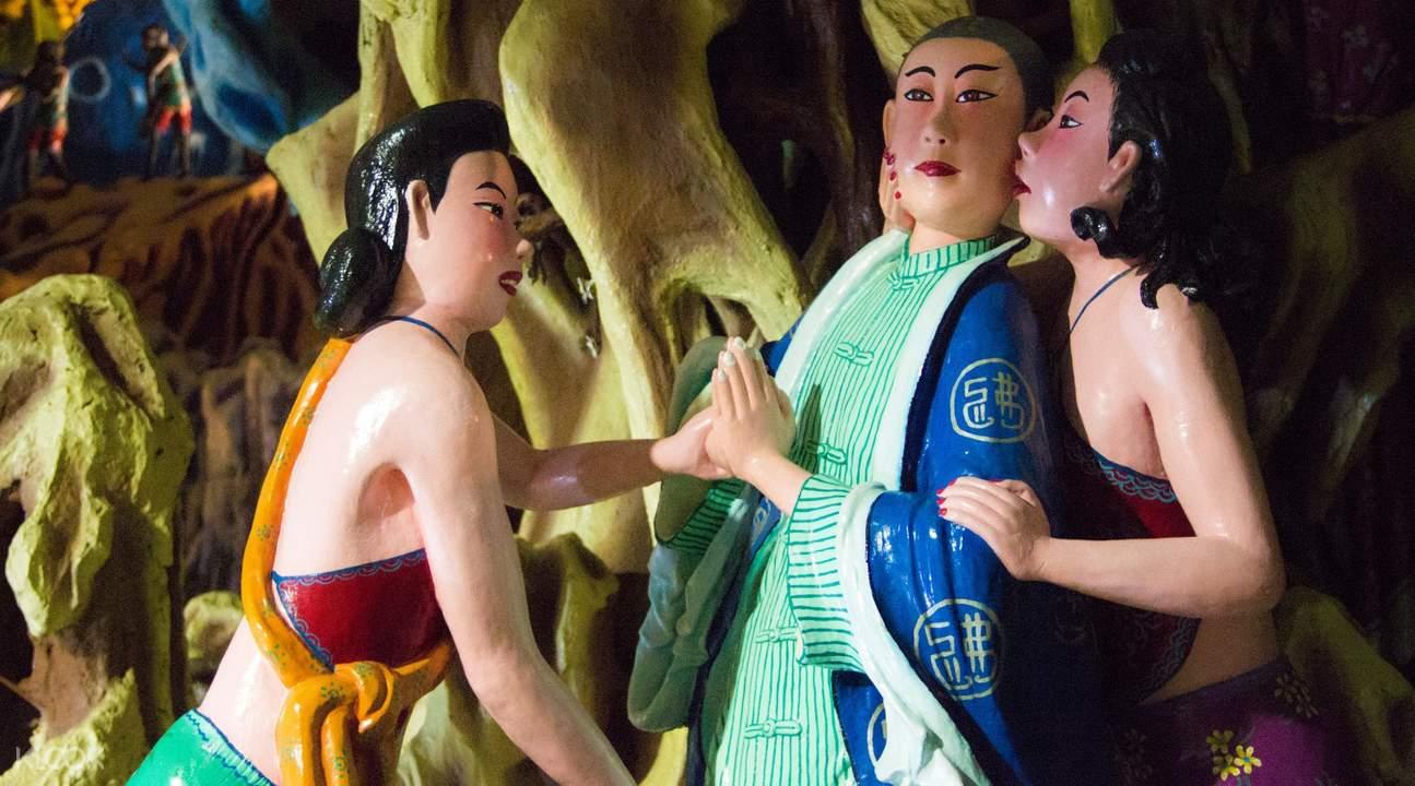 虎豹别墅西游记雕塑