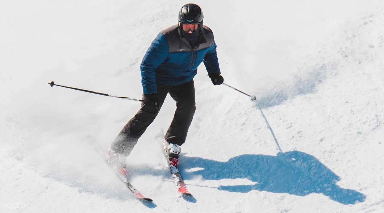Hunter Mountain skiing