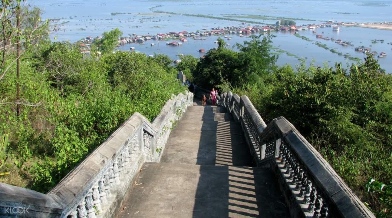 科荣寺(Phnom Krom)Tuk-Tuk嘟嘟车半日游