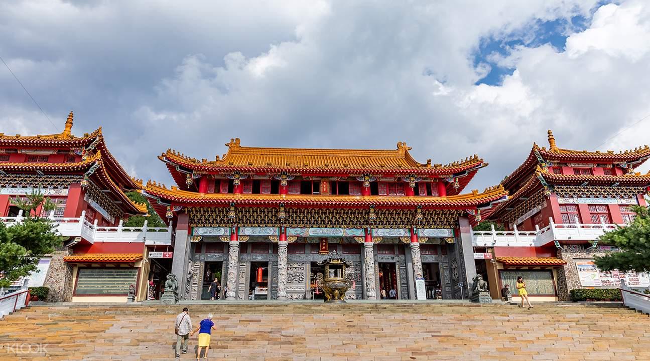Wenwu temple sun moon lake