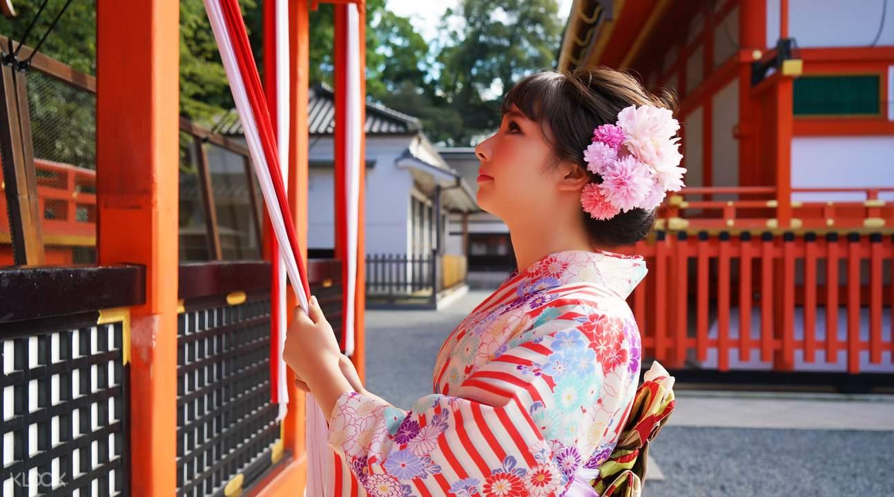 櫻京和服體驗 - 漫步京都鴨川納涼床,走進藝妓回憶錄的世界 - KLOOK客路