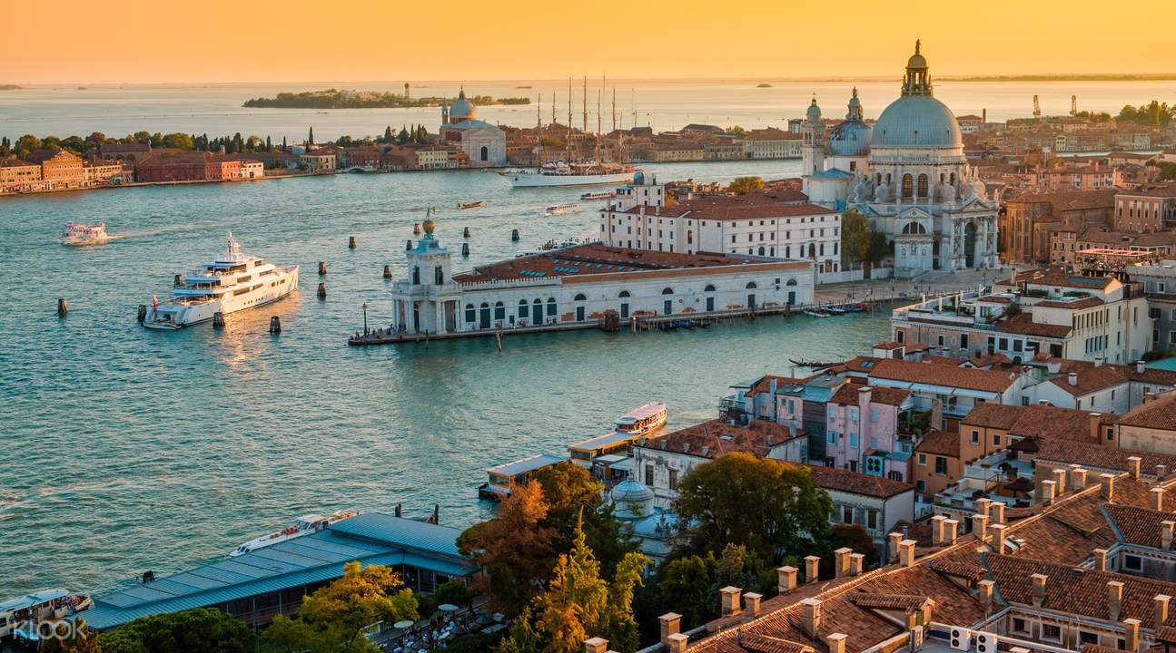 Rome to Venice by Train Day Tour