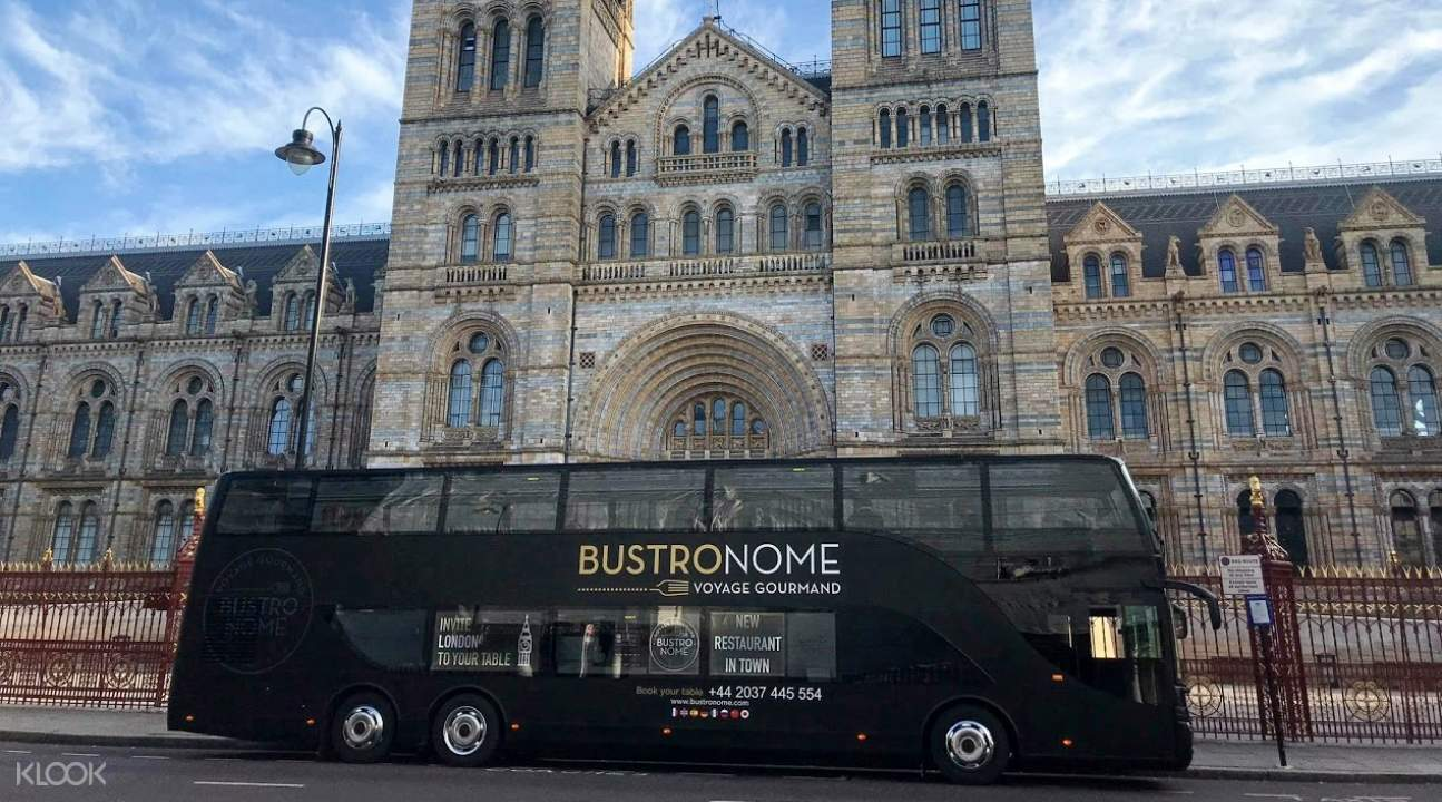 English Gourmet Lunch, Dinner, or Afternoon Tea by Bustronome Luxury Bus in  London