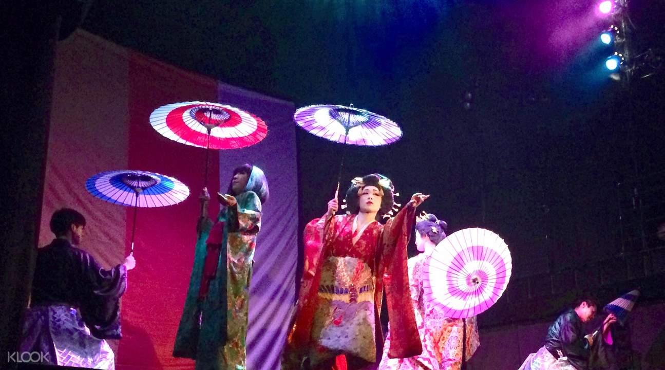 Biou-za Weekend Dance Show at Roppongi Kaguwa