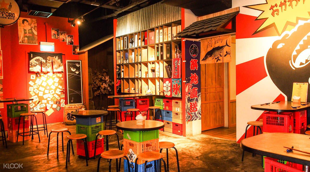 Yoi Sake Bar & Kurama Robatayaki - 濱海藝術中心