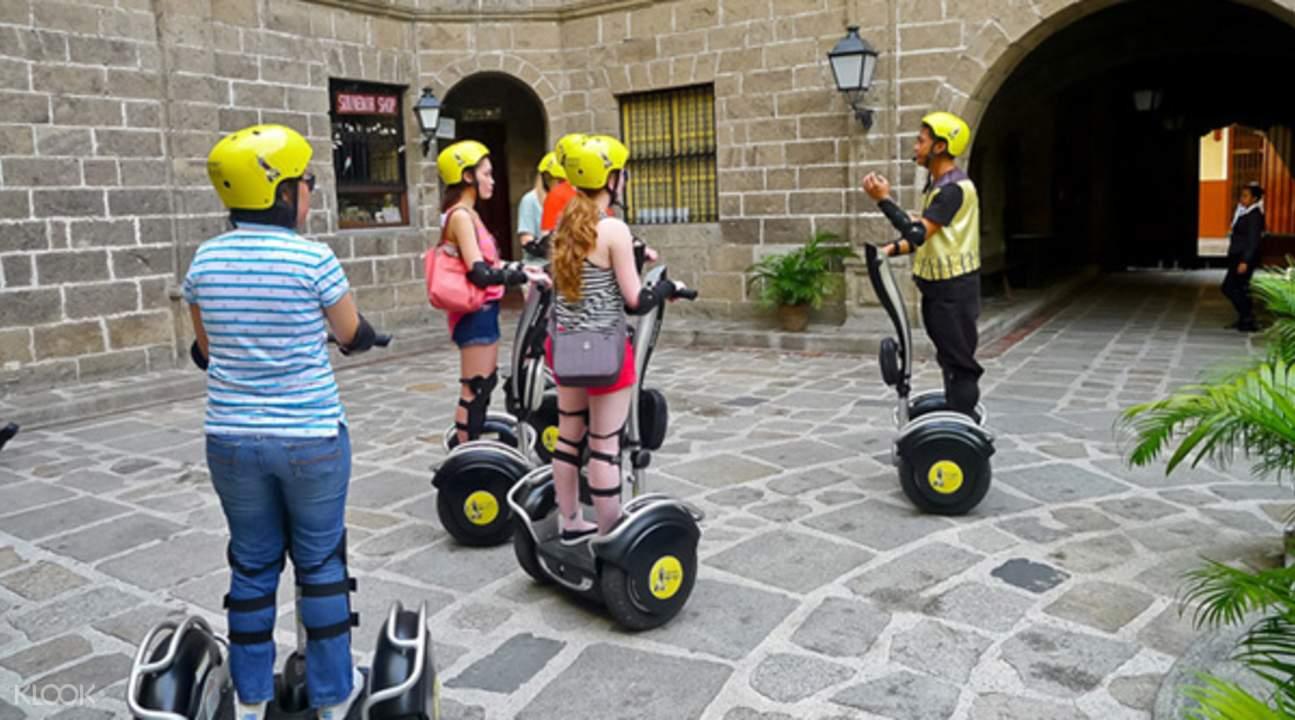 马尼拉白骑士酒店电动平衡车
