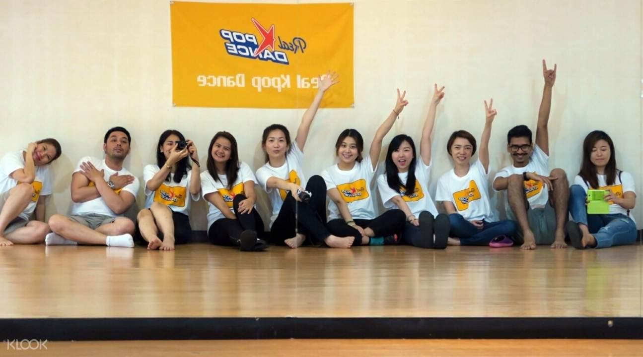 kpop dance class in seoul