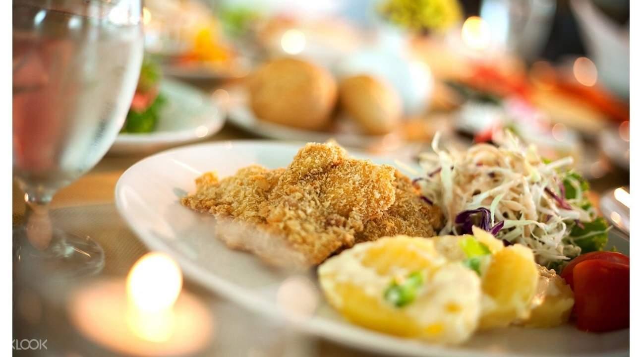 泰國芭提雅愛灣新溫安酒店海港清真餐廳