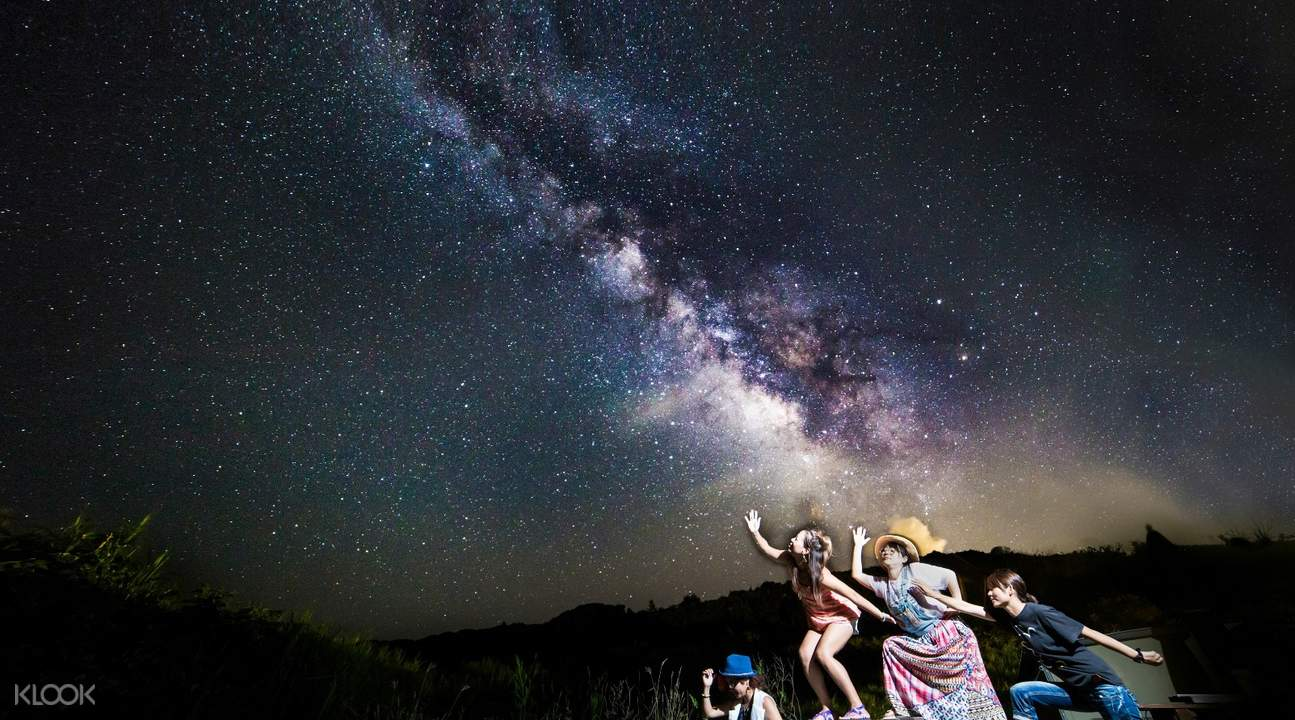 Okinawa photoshoot under the stars
