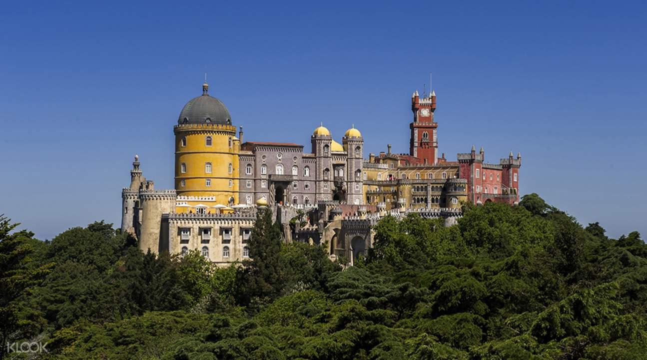 pena palace sintra cascais estoril day tour from lisbon