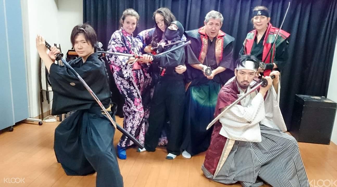 Japan samurai experience