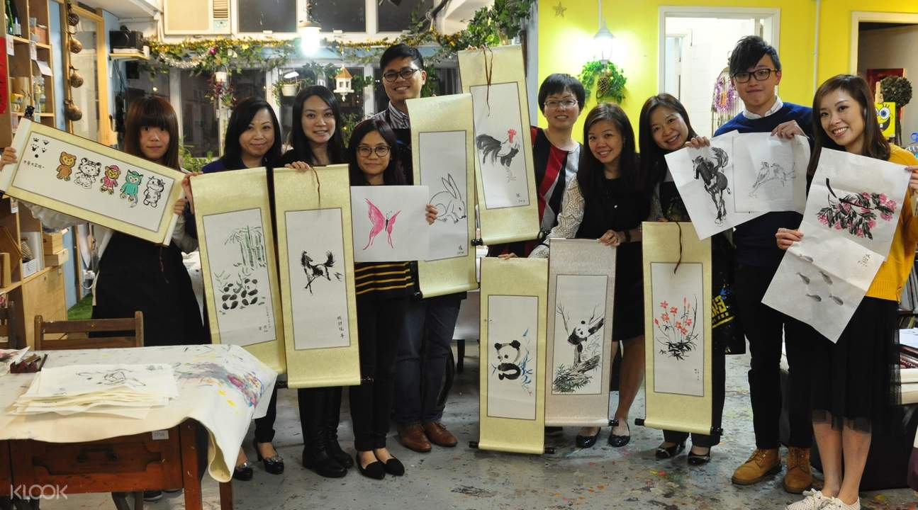 Workshop Lukisan Cina