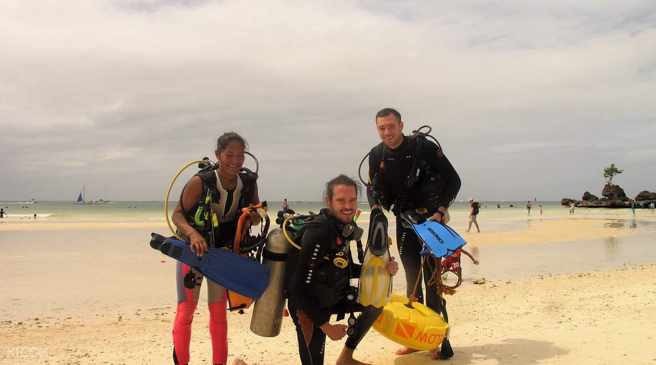 discover scuba diving boracay