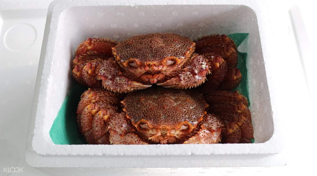北海道香蟹