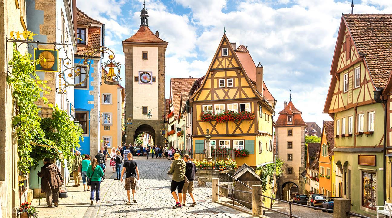 浪漫之路:羅滕堡和哈爾堡