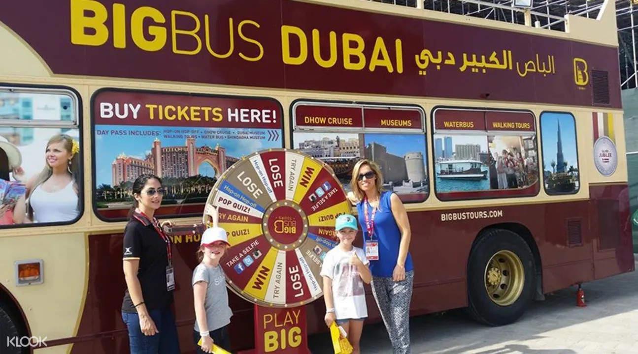 dubai bus tour