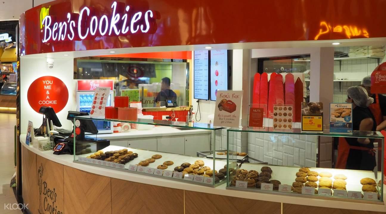 enjoy flavorful soft cookies by ben's cookies