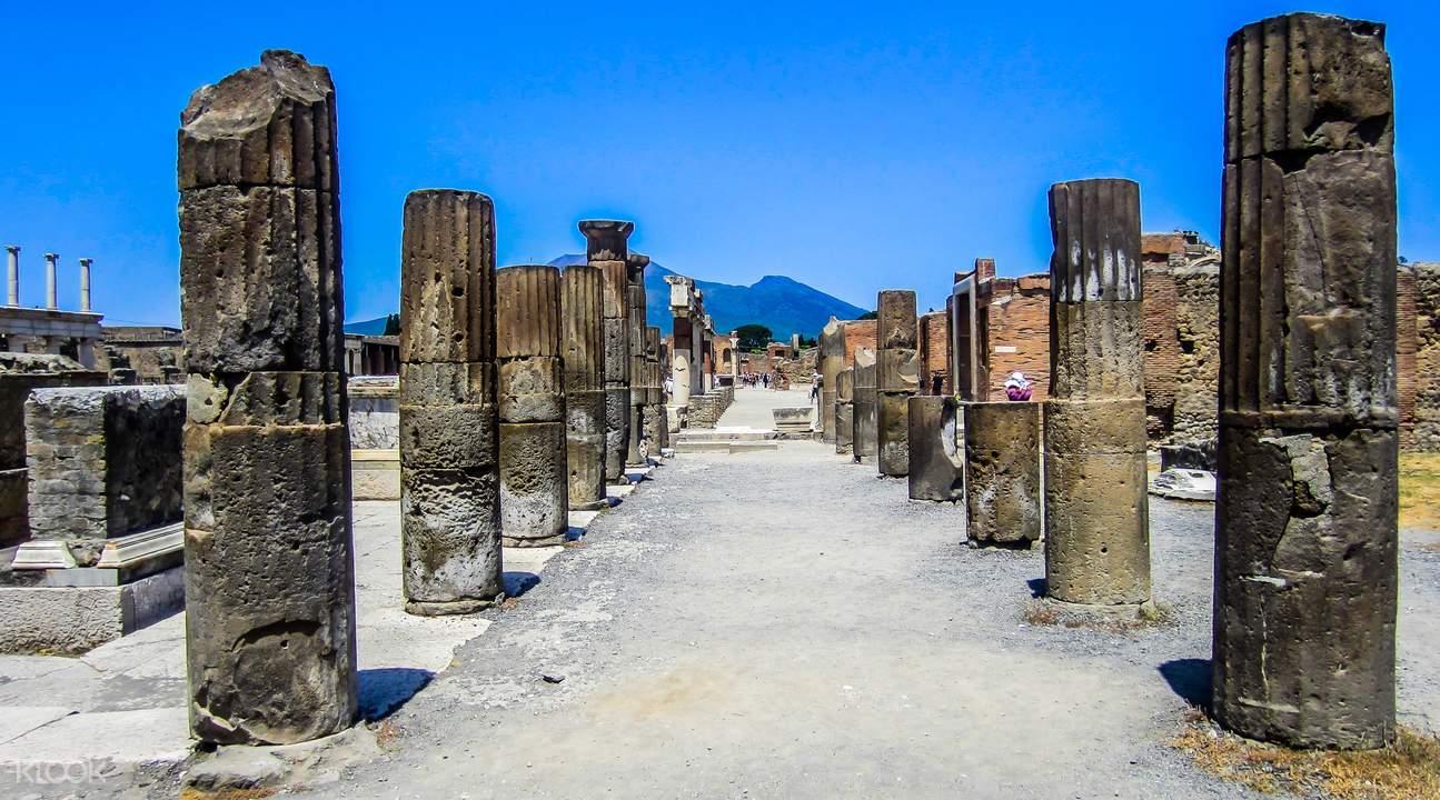 庞贝古城遗迹