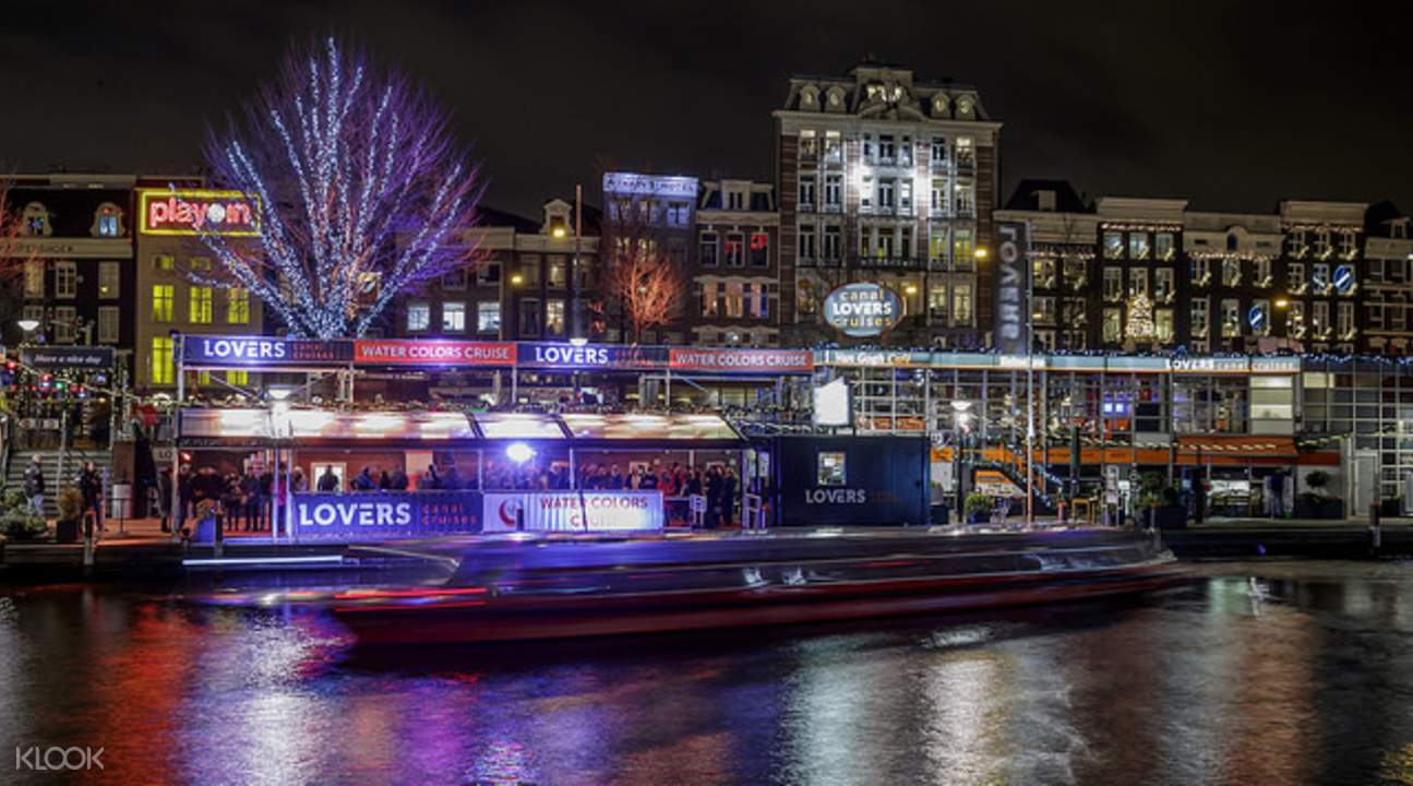 阿姆斯特丹夜间游船