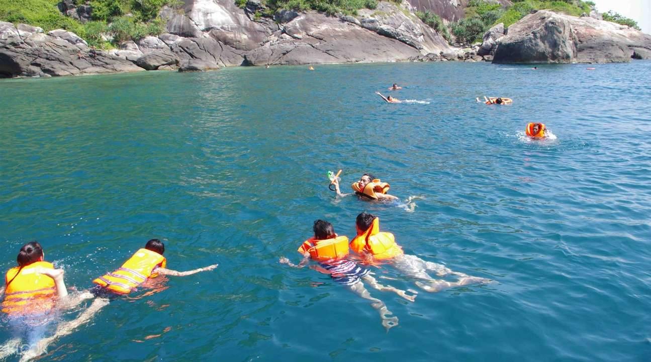 占婆岛浮潜