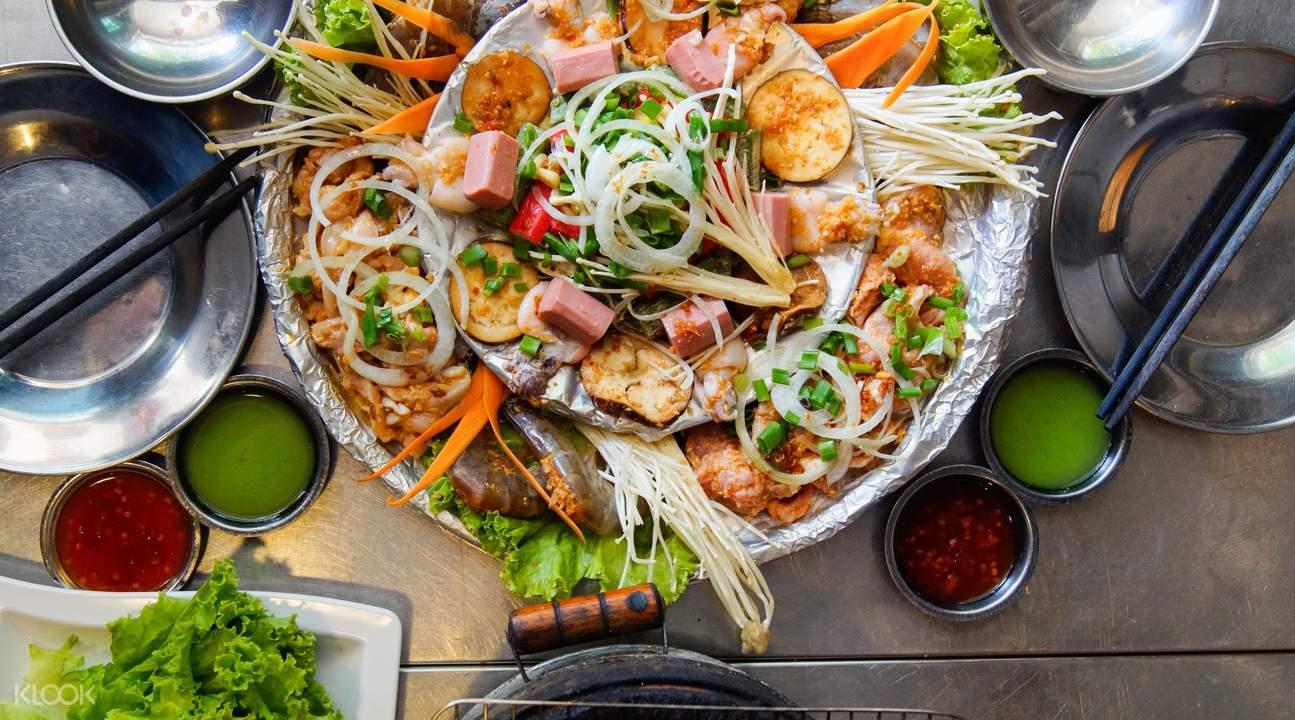 Premium Meat Platter at Lang Nuong Vietnam in Jalan Besar