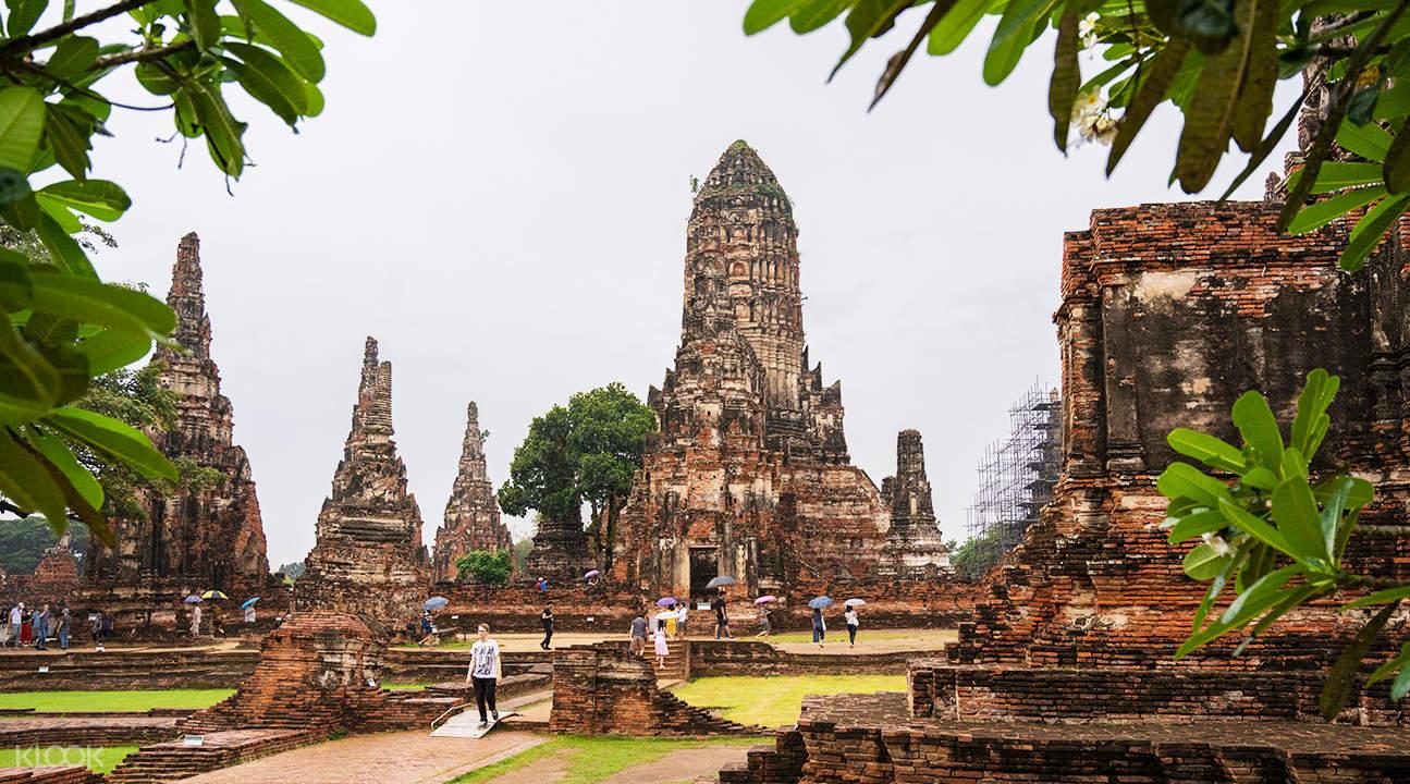temple complex of Wat Chaiwatthanaram