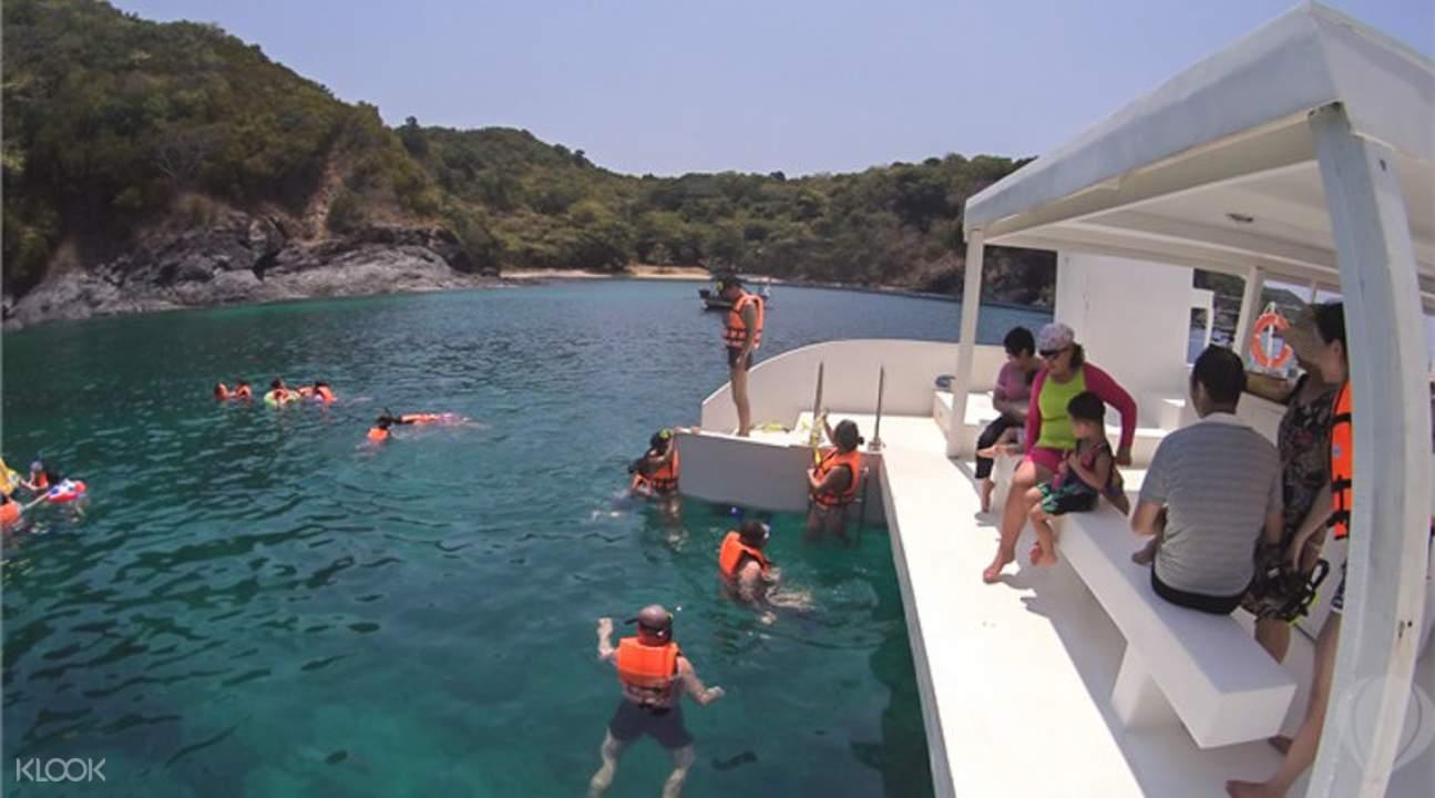 snorkel in thailand
