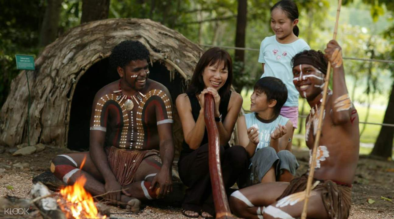 Tjapukai Aboriginal Cultural Park by Day with Roundtrip Transfers