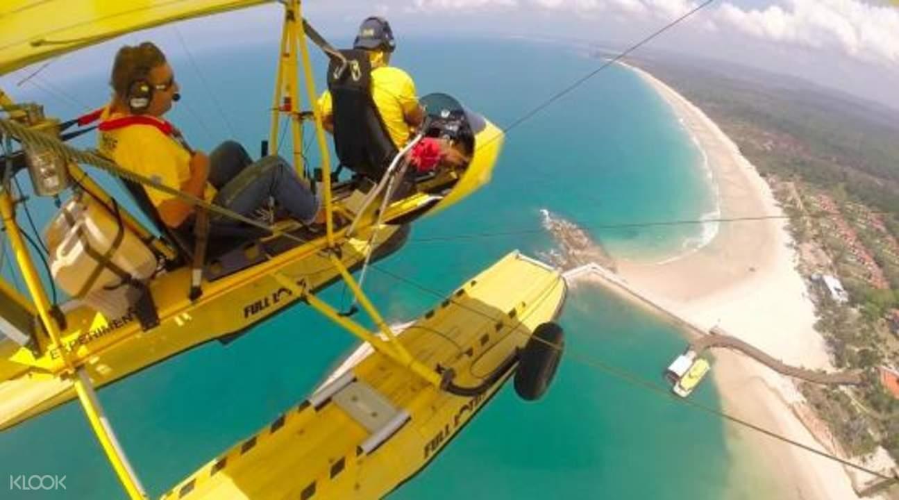 水上飛機高空觀光體驗