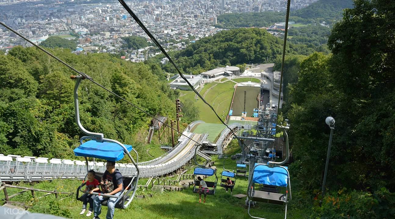 Okurayama gondola view