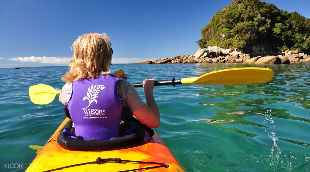 kayaking nelson new zealand
