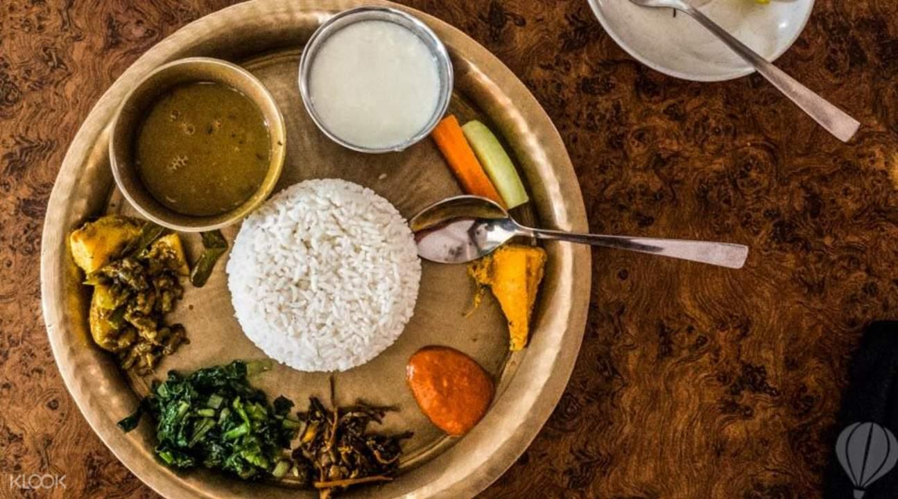 尼泊尔地道美食