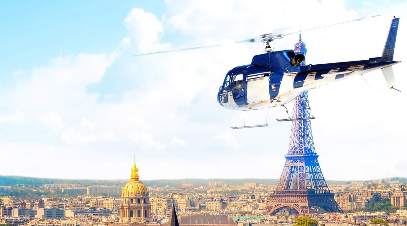 巴黎直升机观光