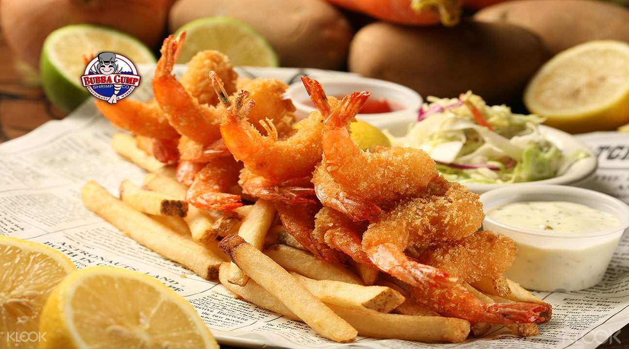Bubba Gump Shrimp discounts